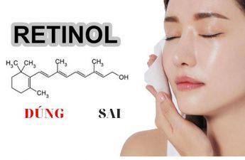 Sử dụng Retinoid đúng cách