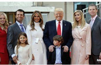 Cách dạy con của ông Trump